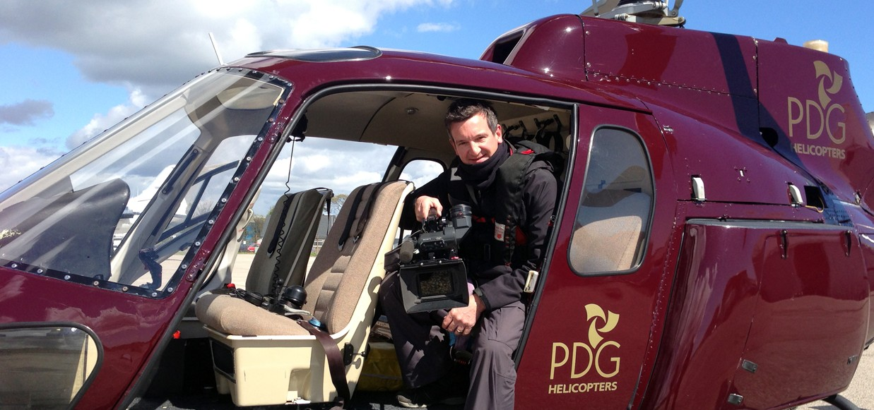 Aerial shoot for BBC Panorama