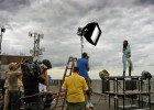 Filming a rooftop fashion shoot in Copenhagen (BBC)