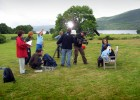 On location shooting 'Nina and the Neurons' (CBeebies)