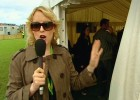 Lauren Laverne piece to camera (T in the Park, BBC)