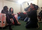 Interviewing Snoop Dogg backstage at 'T in the Park' (BBC)