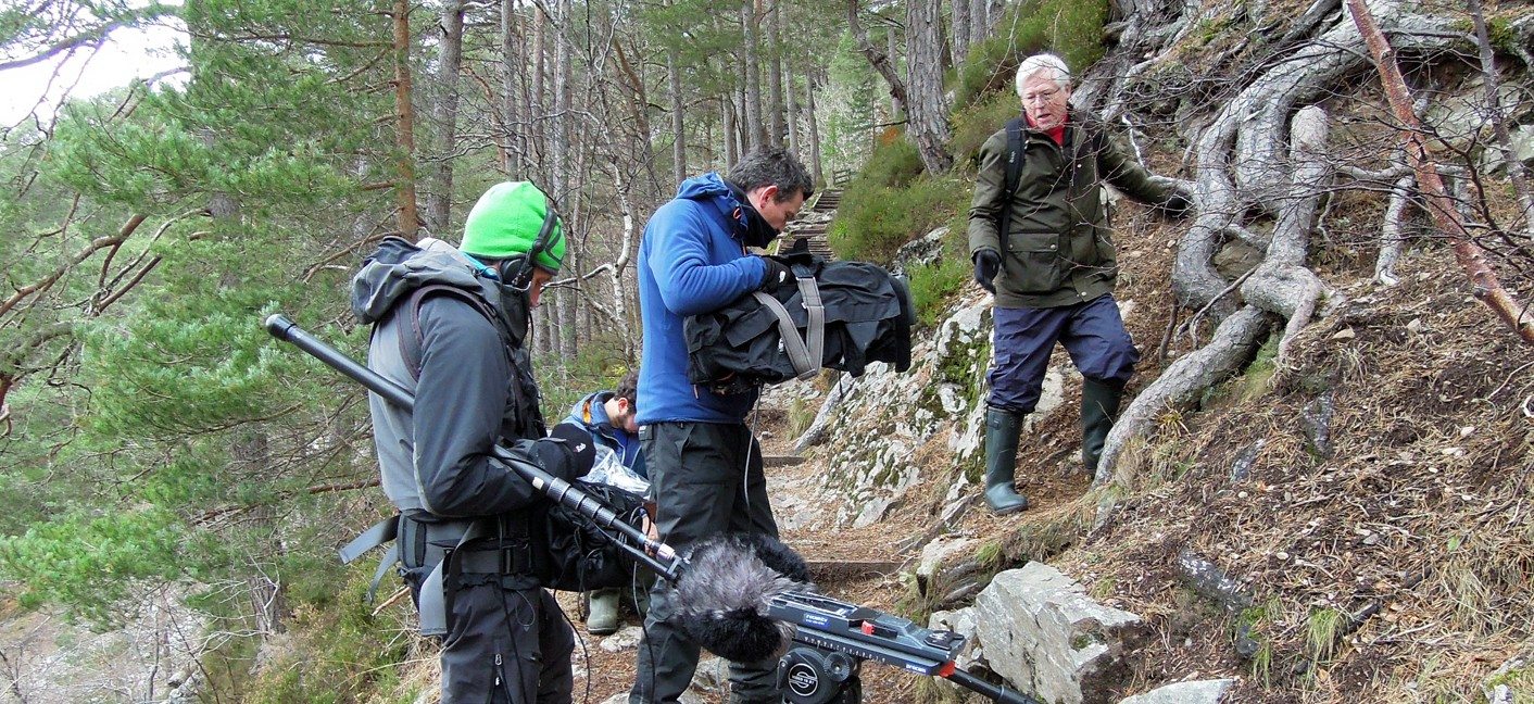 Filming for BBC Countryfile