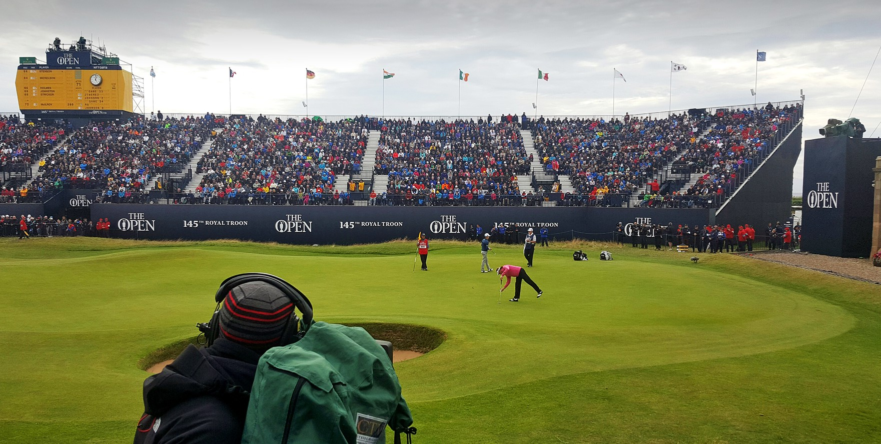 Live camera at The Open Championship 2016, Royal Troon (CTV)